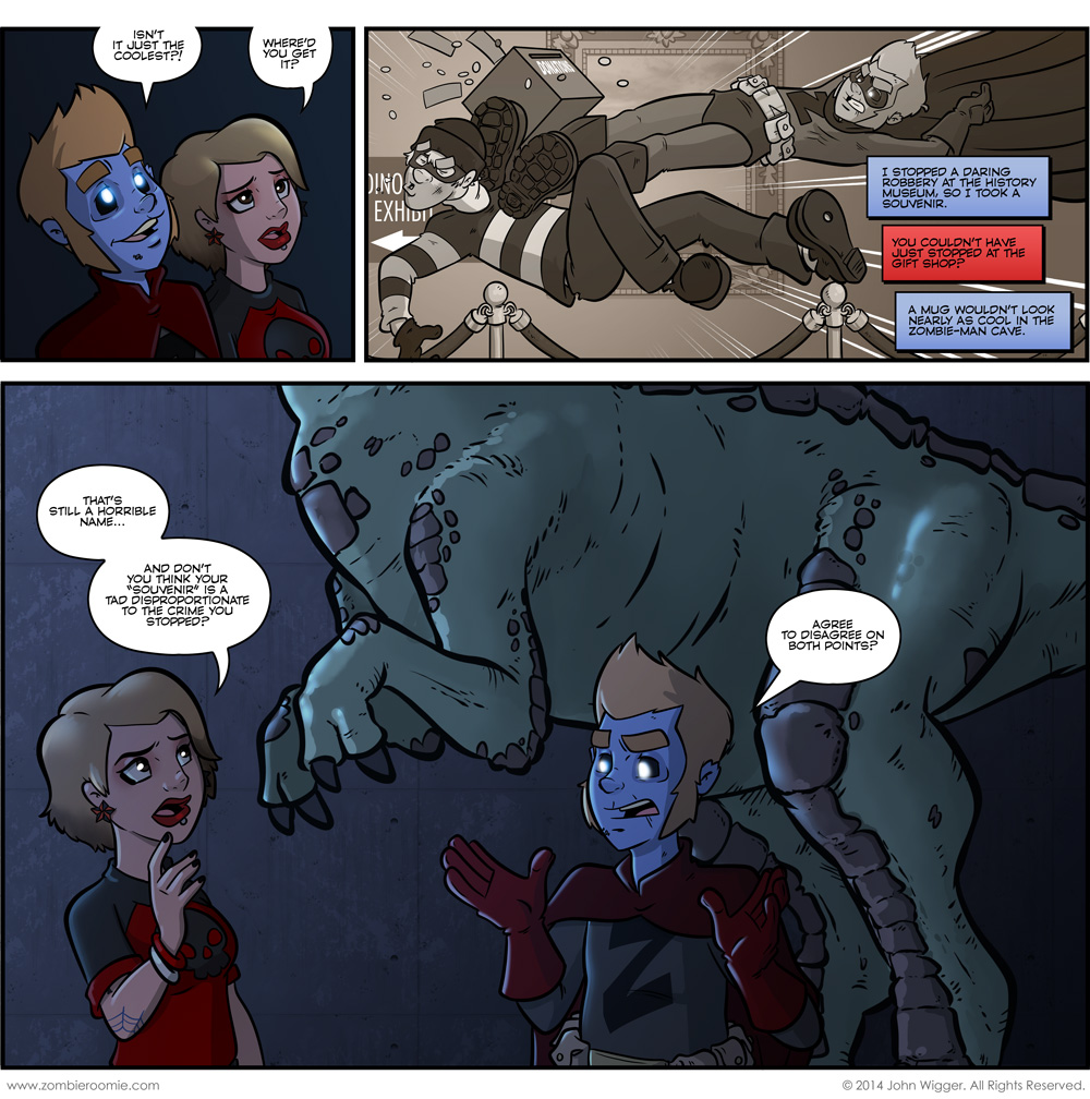 The Caped Cadaver Rises – part 5