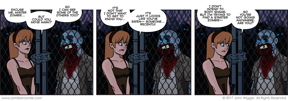 Zombies at the Altar – part 11